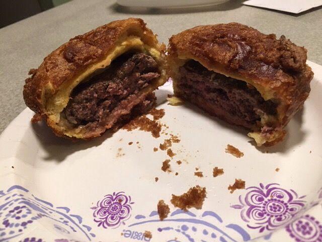 How to Make a Deep Fried Hamburger