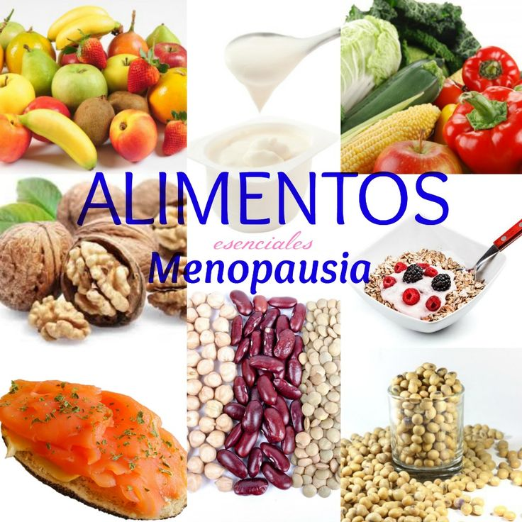 8 Alimentos esenciales para afrontar la etapa de la #menopausia de forma muy saludable