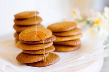 Honey ginger snaps
