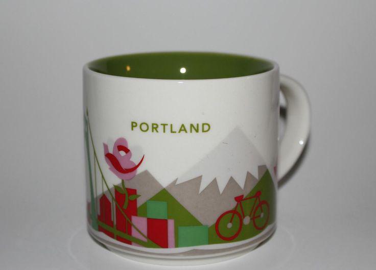 Starbucks Portland Travel Mug