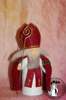 Blumenkinder-Werkstatt: St Nikolaus, Saint Nicholas