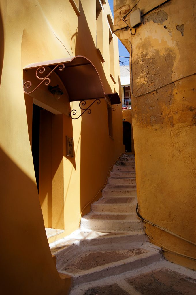 Corners of Chania, Crete Island, Greece