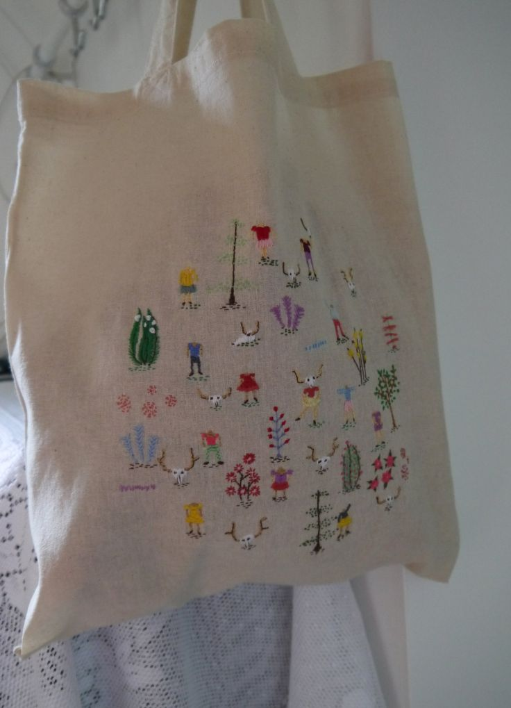 Forest Children Tote Bag 1 by LizJamesFroud on Etsy