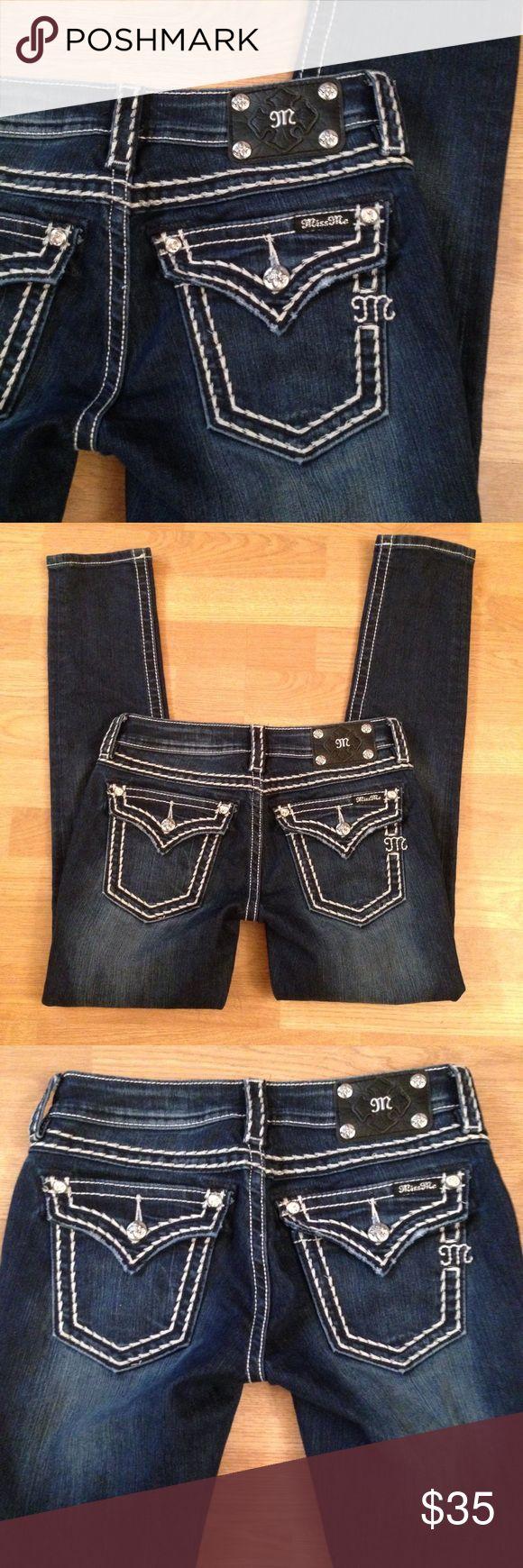 "NWOT Miss Me Skinny Jeans Miss Me Skinny Jeans NWOT Sz 28x31"" Miss Me Jeans Skinny"