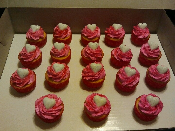 valentine's day cupcakes gold coast