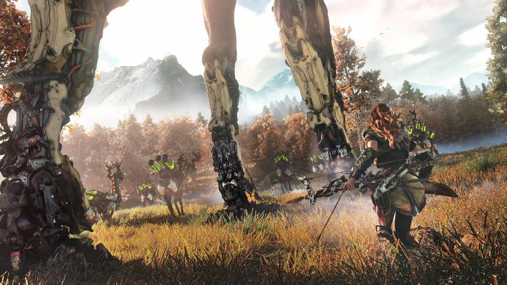 Horizon Zero Dawn Trailer - Earth is Ours No More    #gaming #horizondawn  #horizonzerodawn #hzd #ps4 #gamer #trailer