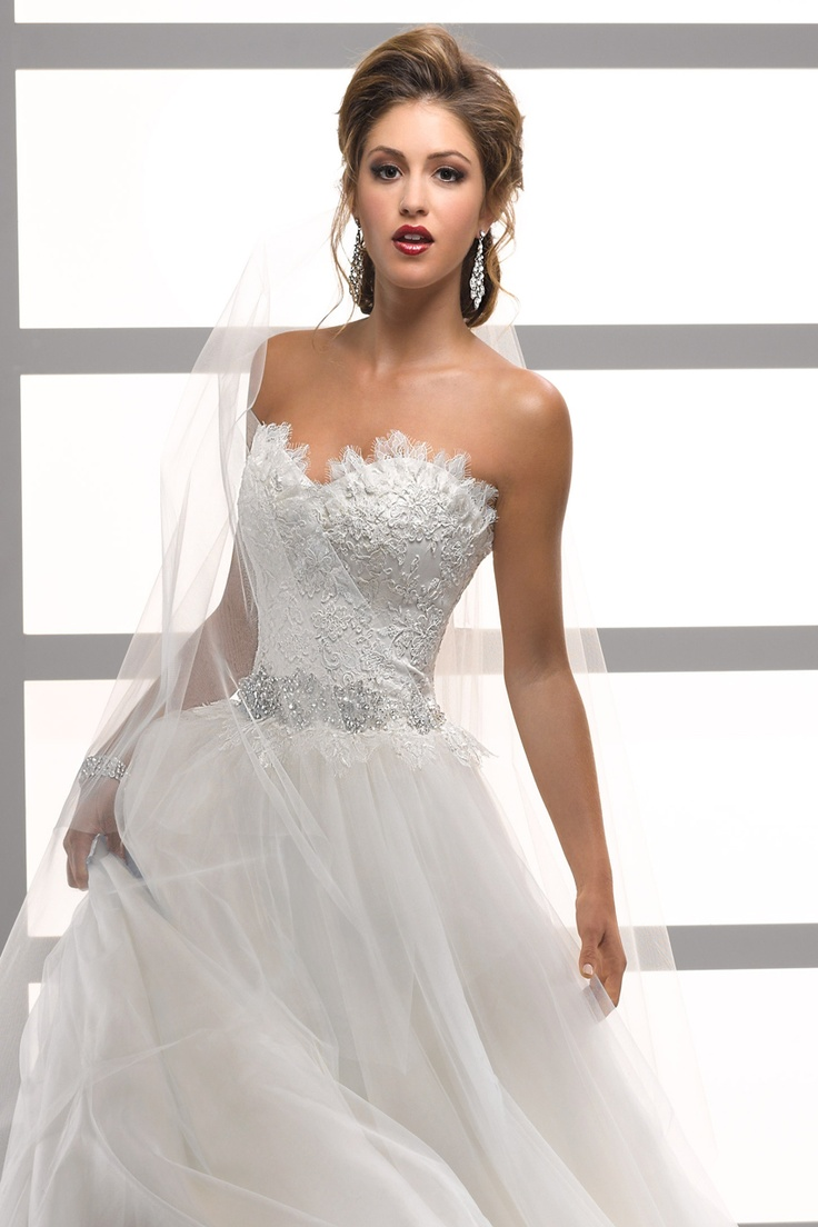 Mermaid wedding dresses with feather bottom   Best images about beautiful dresses on Pinterest  Ballgown