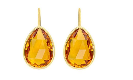 Citrine Brio Earrings 18kt Gold-----------For more Information Call Us At: (866) 264-9759 Or Visit: haroldfreemanjewelers.com www.youtube.com/watch?v=dXT8vy4e8c4 www.facebook.com/HaroldFreemanJewelers