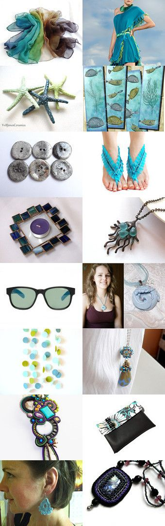 Summer Style - Caressing Sea  by Chinook Design on Etsy--Pinned with TreasuryPin.com