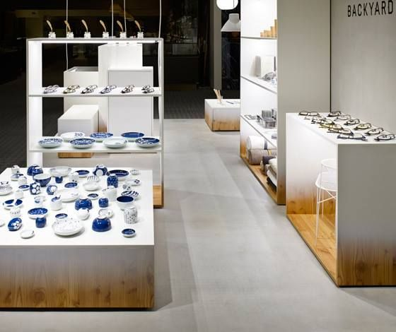 Backyard by   n for Seibu Sogo department stores by Nendo