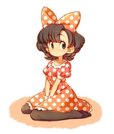 Minnie Mouse Humanizedanime Style Anime Pinterest Disney