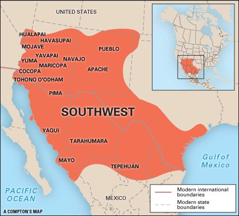15 best maps images on pinterest native american native american southwest indian location publicscrutiny Image collections