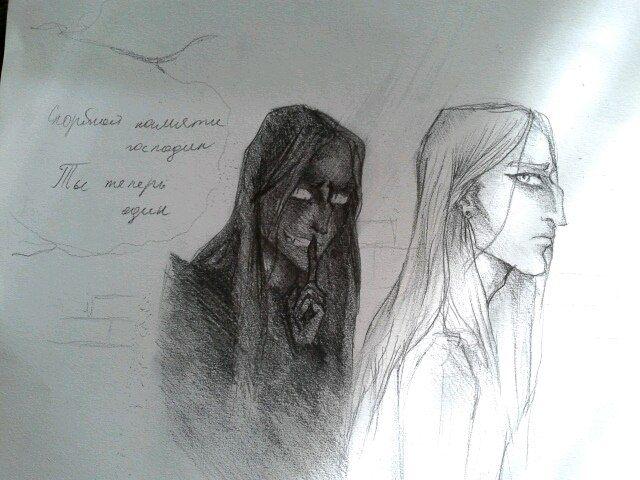Стервятник и Тень by  Дарья Ушакова