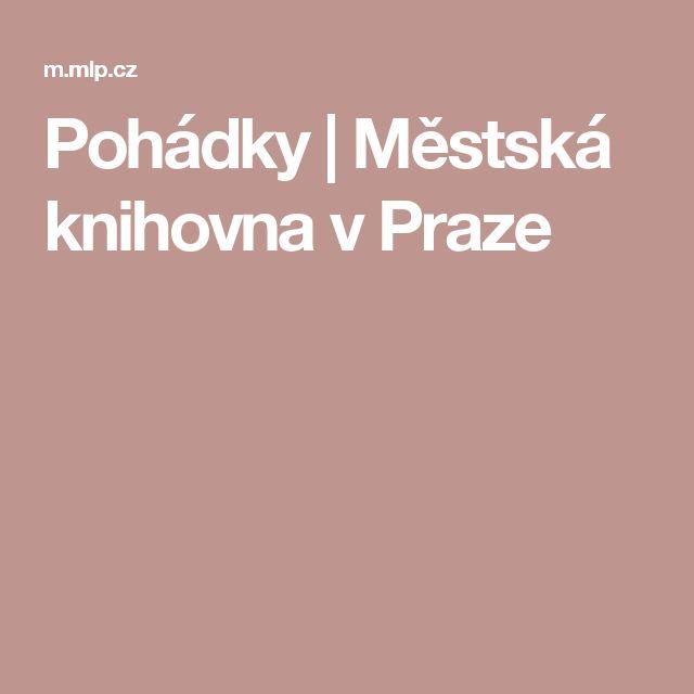 Pohádky | Městská knihovna v Praze