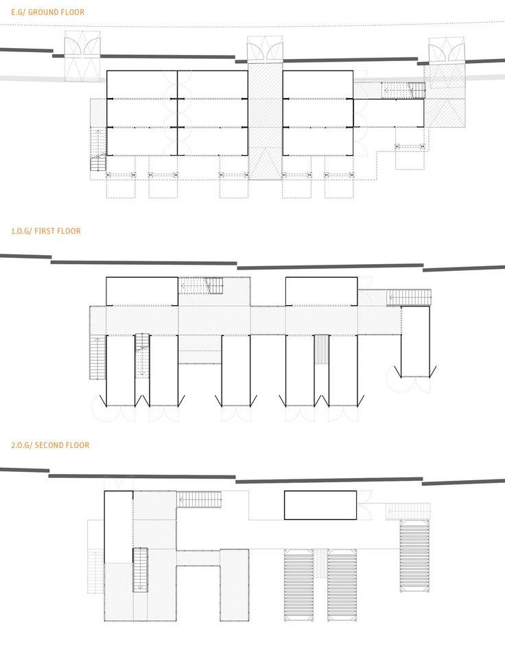 Das Gebäude wurde inzwischen dreimal auf der Bread & Butter Berlin zum Einsatz gebracht. Die vermietbare Fläche beträgt z.Zt. ca. 266 m2, lässt sich aber im Bedarfsfall einfach erweitern.