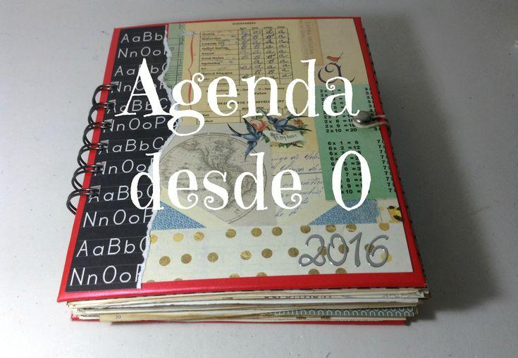 DIY Scrap: Hacer una agenda desde cero