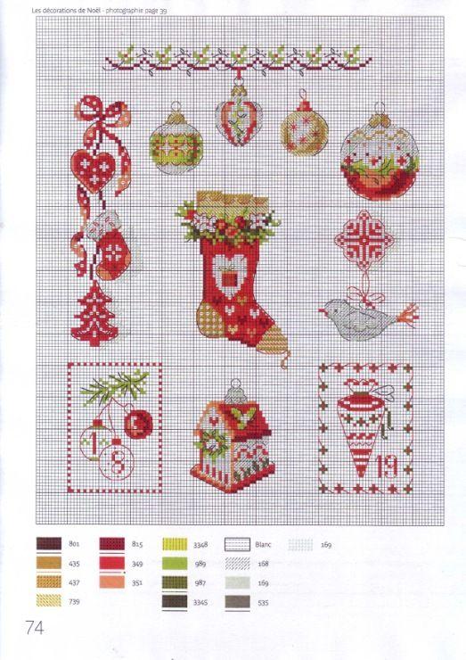 Gallery.ru / Photo # 1 - Christmas scenes mini embroidery. - asdfgh2