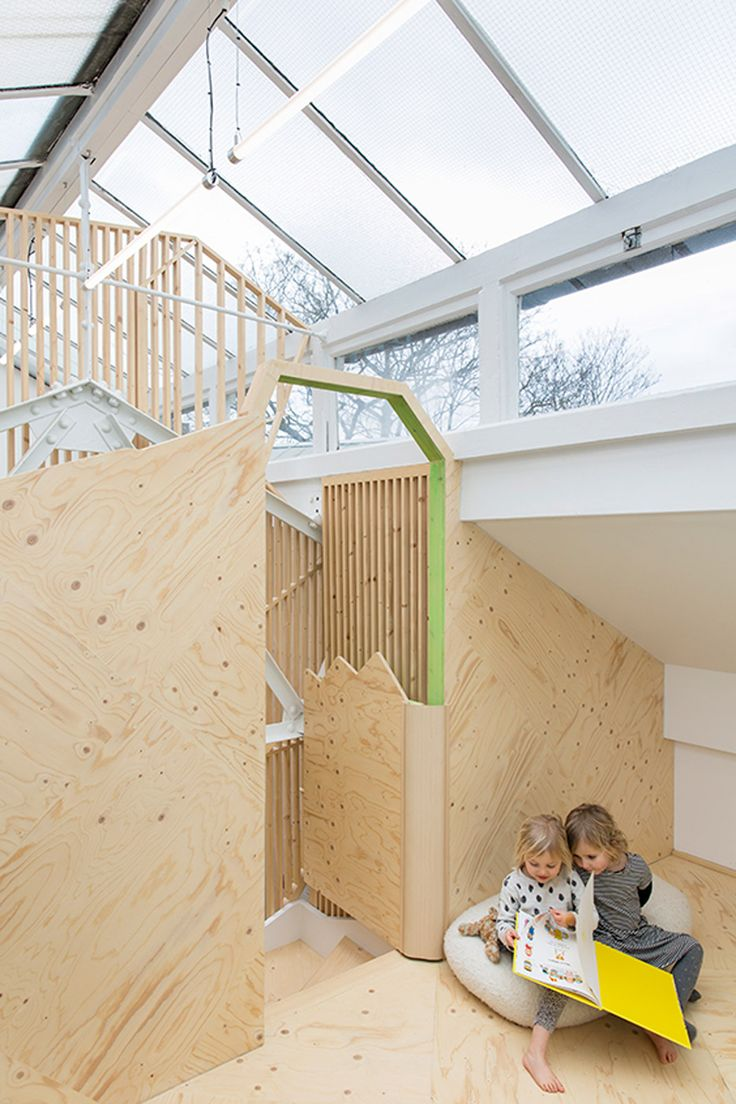 Lipton plant architects have extended and refurbished the bath house childrens community centre in dalston north london the bath house is a multi purpose