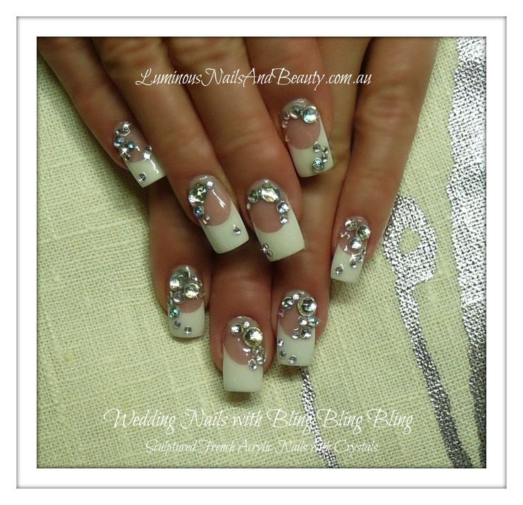 Looks Like The Big Fat American Gypsy Wedding Style Very Cute With Twist On A Classic Nail