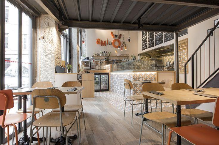 2015 – Aménagement d'un restaurant californien à Lyon. Photographies ©Sabine Serrad