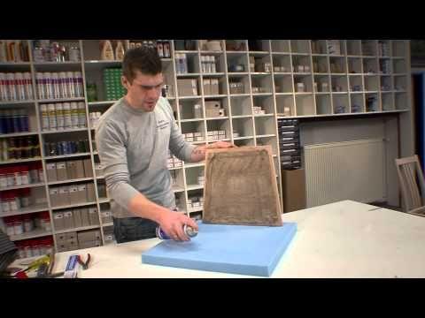 Anleitung: Stuhl Polsterung mit Gurten von polstereibedarf online - YouTube