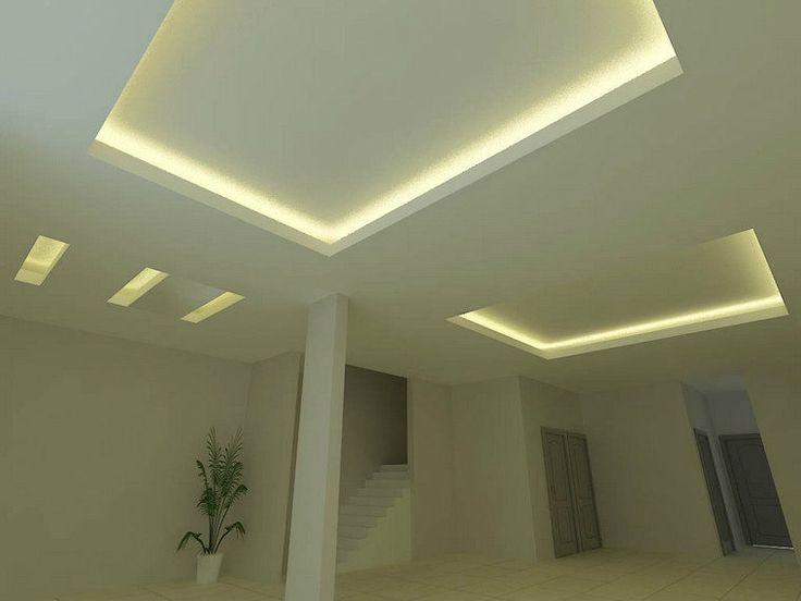 M s de 25 ideas fant sticas sobre techos pladur en - Cornisa para led ...
