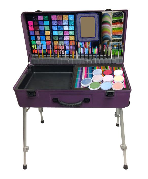 The Paint Station with Face Paints