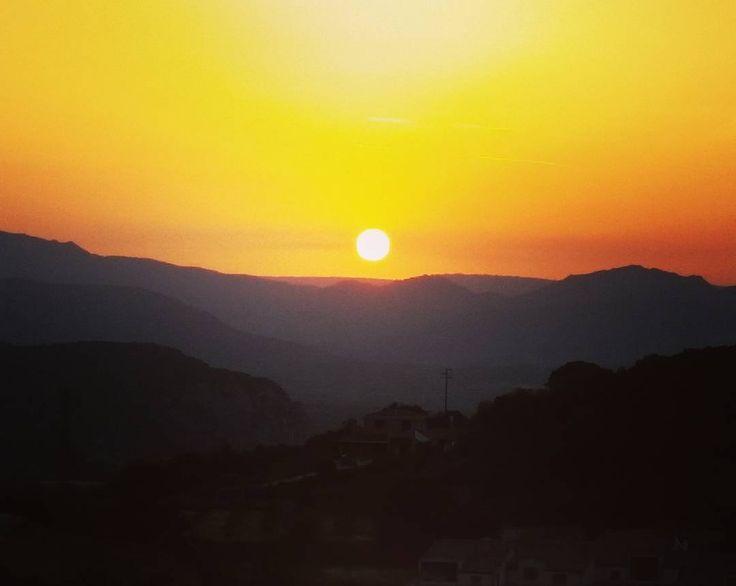 #sardinia #sunset #newnigth #lovemyland #mylife #wildlife #weliveinparadise #focusardegna #visitsardegna #visitbarbagia #visitsupramonte