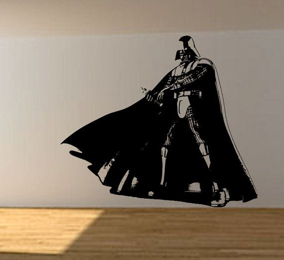 Star Wars Vinyl Wall Decal Wall Decor Darth By ThePersonalizedGift Part 97