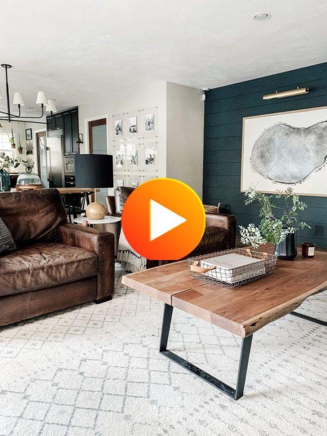 1001 Conseils Et Idees Pour Amenager Un Salon Rustique Salon Rustique Deco Salon Blanc Deco Salon Canape Marron