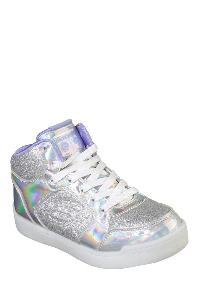 Skechers Light Up Junior Hi Tops | Kids