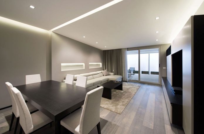 Renovation of an apartment that embodies the height of modernity and minimalism in Rome, Italy - CAANdesign | Architecture and home design blog
