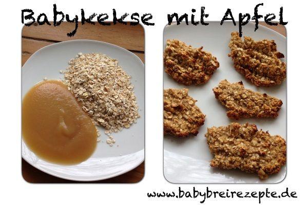 Babykekse mit Apfel Rezept zum Selbermachen - Babybreirezepte zum Selberkochen.