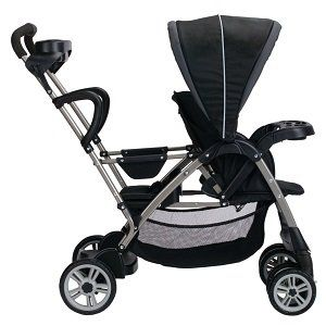 Graco RoomFor2 Stand and Ride Classic Connect Stroller, Metropolis | Cheap Baby Strollers