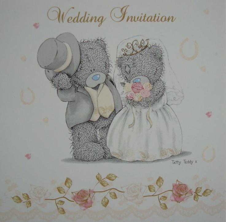 Свадебные тедди картинки, надписью день
