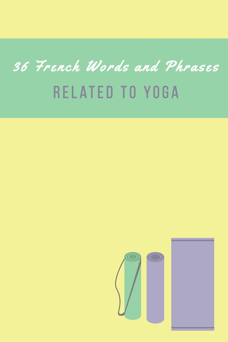 A new article: French vocabulary about YOGA https://www.talkinfrench.com/french-vocabulary-related-yoga/ Don't hesitate to share.