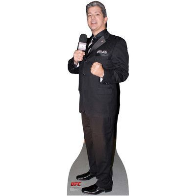 Advanced Graphics UFC Bruce Buffer Cardboard Stand-Up