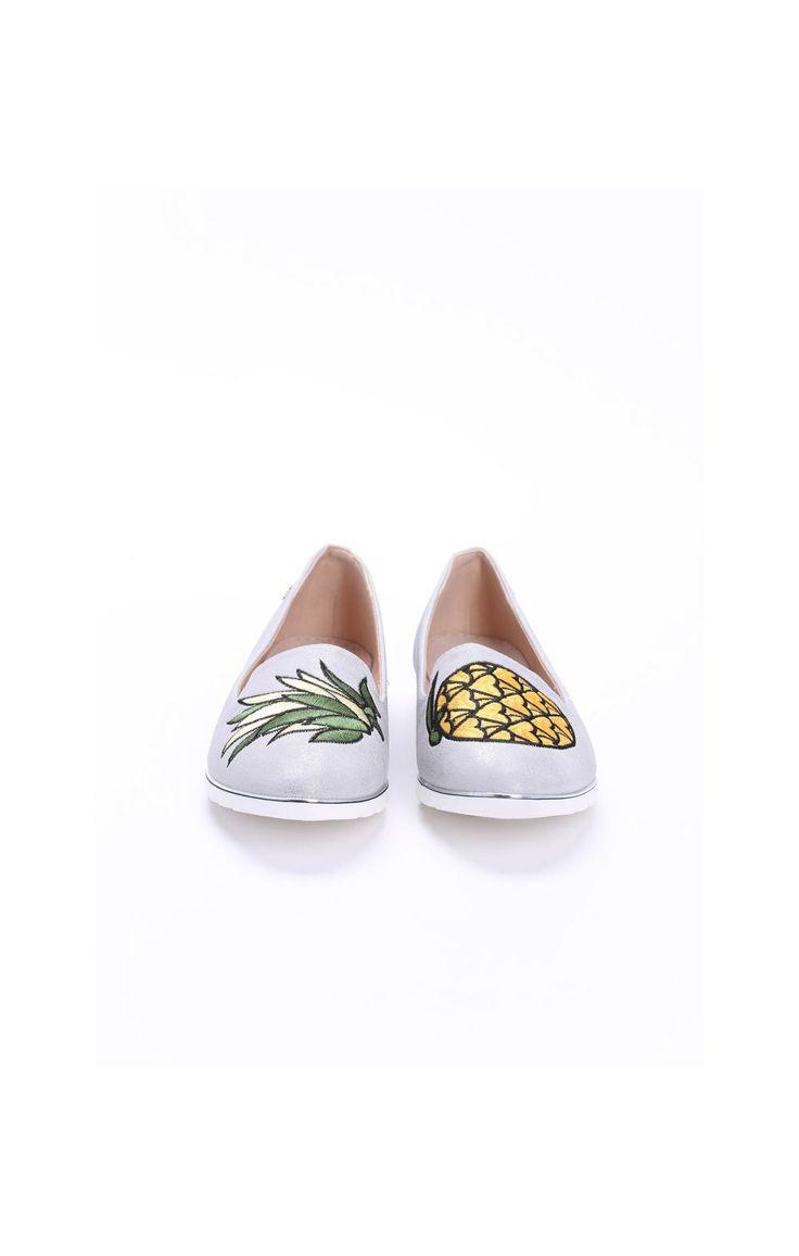 Szare Mokasyny Pineapple