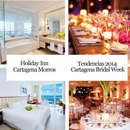 Holiday Inn Cartagena de Morros Boda y luna de miel de ensueño/ Tendencias 2014 Cartagena Bridal Week http://www.inkomoda.com/recomendados-inkomoda-2/