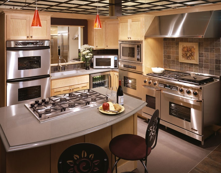 Beautiful Designer Kitchen, Brought To You By Dacor Appliances. Made In  California!