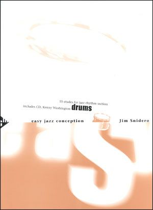 Jamey Aebersold Jazz: Easy Jazz Conception for Drums