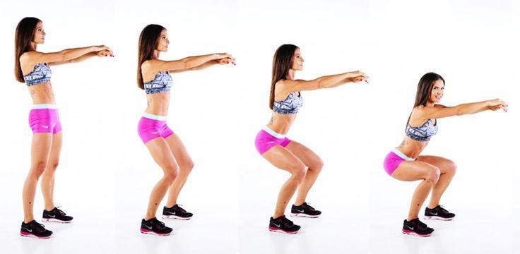 5 Dakikada Seksi Bacaklar İçin Üst Bacak Egzersizi