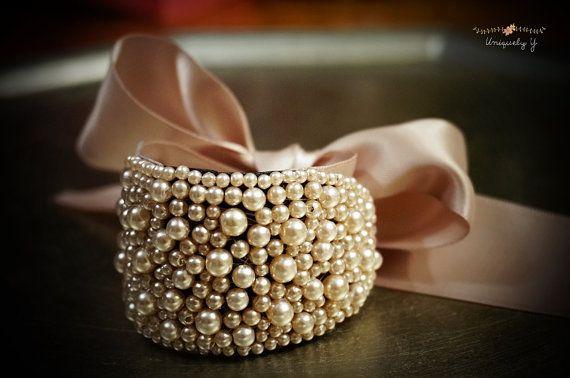 Bridal bracelet , Pearl bracelet, Bridesmaid bracelet, Wedding accessory on Etsy, $40.29 AUD - wow