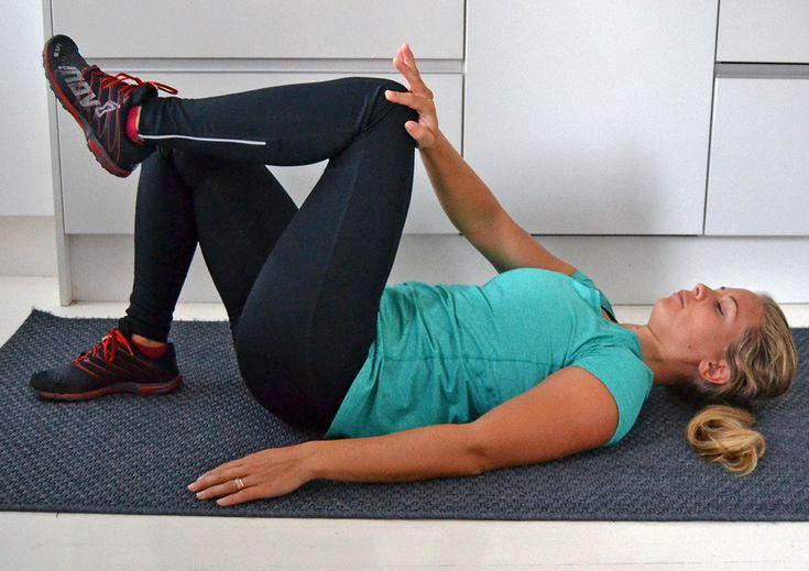 Statisk inre magmuskler träning