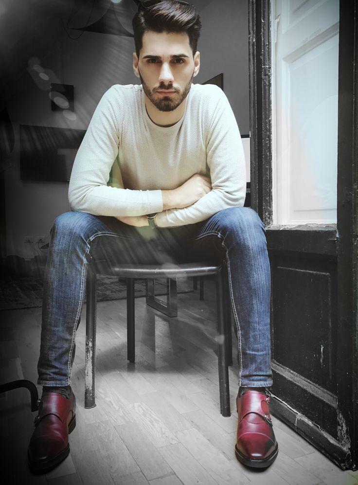 @giampiero giambona porte nos chaussures rehaussantes de luxe