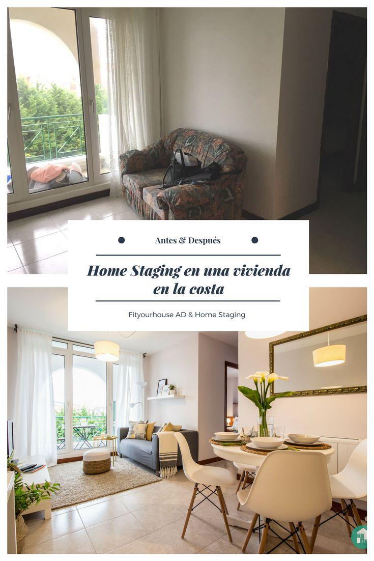 Luxus Hausrenovierung Wunderschone Esszimmer Schwarz Weis Die Ihre Monochrome Magie Arbeiten 2 #22: Antes Y Después De Proyecto De Home Staging Para La Venta De Una Vivienda  En #
