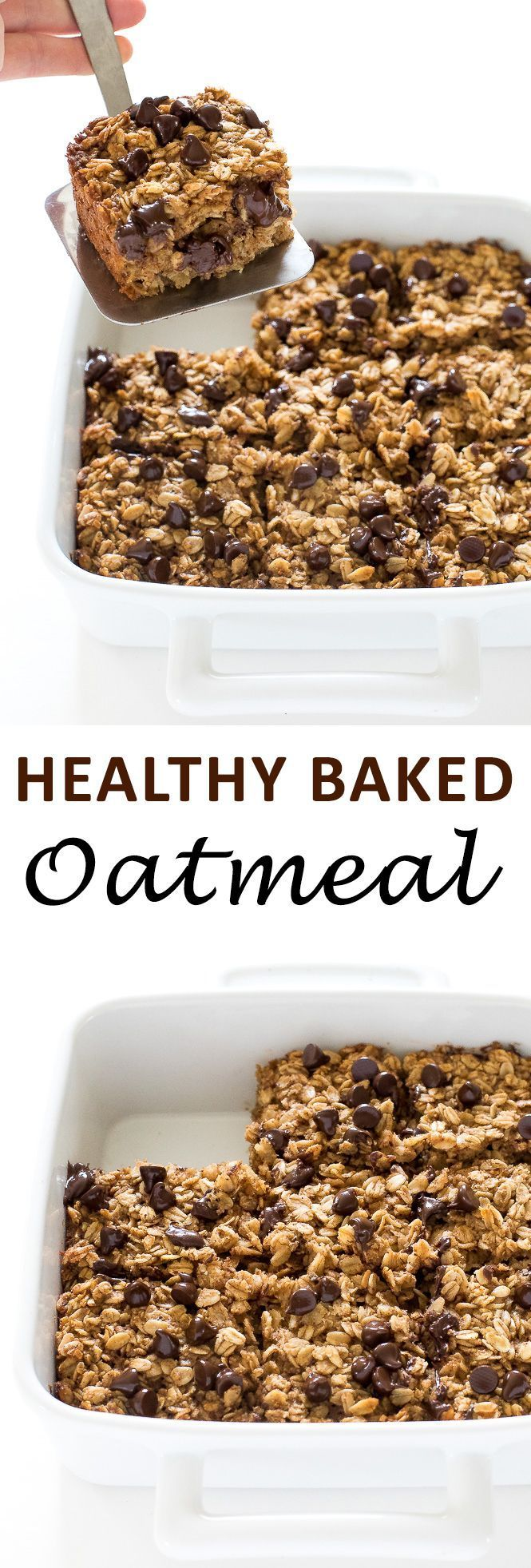 Healthy Baked Oatmeal Chef Savvy Recipe In 2020 Baked Oatmeal Healthy Baking Recipes Healthy Clean Eating Baking
