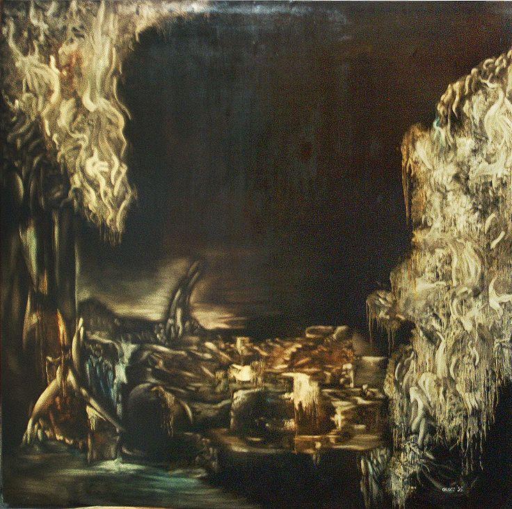 Apocalipse Size: 150 x 150 cm, oil on woodfibre