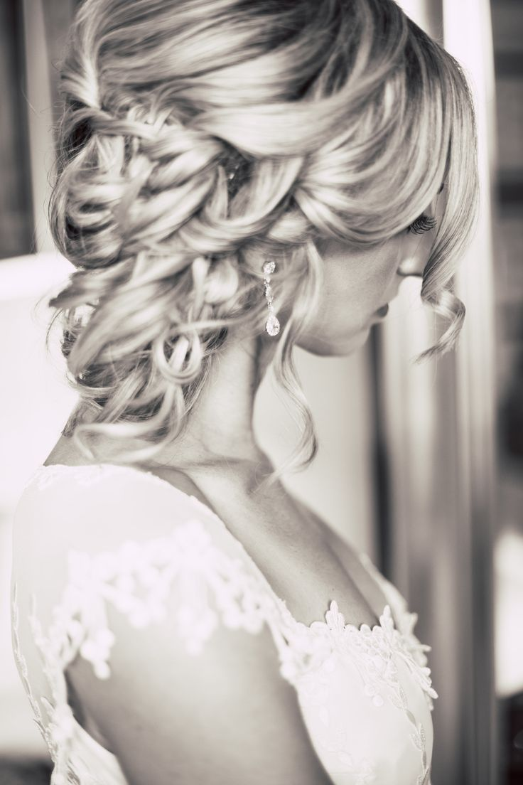76 best Wedding Inspo images on Pinterest   Bridal hairstyles ...