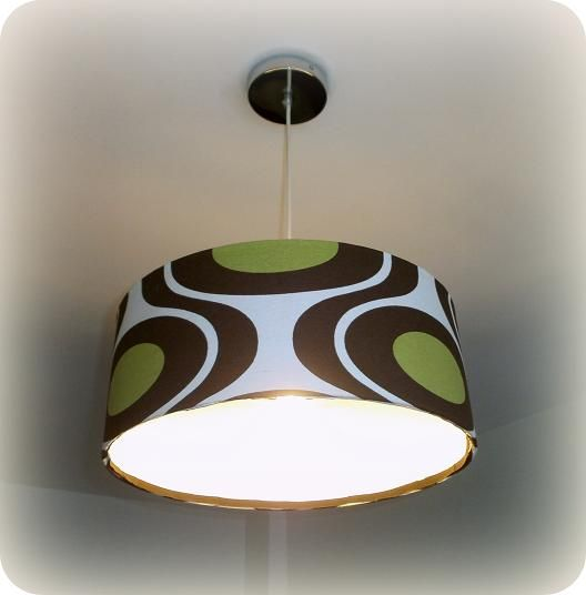 Telas, Cajas y Tinajas reciclar una lámpara con tela